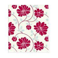 Papel-de-parede-floral-vermelho-prata-e-bege-Corium-vinilico-53cm-x-10m-Muresco