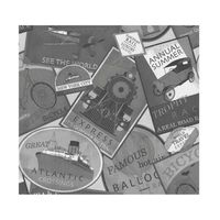 Papel-de-parede-selos-turisticos-cinza-Allegra-vinilico-53cm-x-10m-Muresco