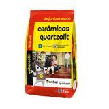 Rejunte Weber Flex 1Kg cinza platina Quartzolit