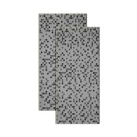 Revestimento-Mini-Mosaic-325x59cm-preto-4-pecas-Eliane
