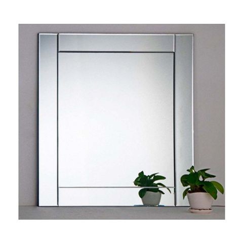 0e0561dab Espelho quadrado Dial 70x70cm Exclusivo Telhanorte - Telhanorte