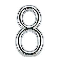 Numero-8-de-aco-Zamac-auto-adesivo-75cm-cromado-Bemfixa