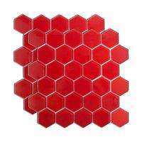 Pastilha-de-vidro-Hexag-52x6cm-vermelha-Van-Gogh