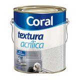 Textura acrílica fosca branca branco 6kg Coral