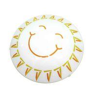 Plafon-de-aco-para-1-lampada-E27-Sol-25cm-bivolt-60W-branco-Bronzearte