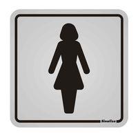 Placa-de-aluminio-Sanitario-Feminino-Sinalize