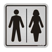 Placa-de-aluminio-Sanitario-Masculino---Feminino-Sinalize