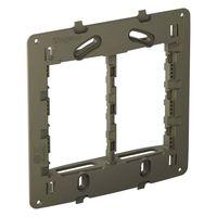 Suporte-4x4-para-placa-6-modulos-cinza-Nereya-Pial