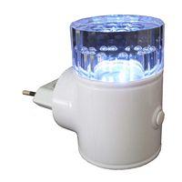 Arandela-mini-de-plastico-de-tomada-com-3-LEDs-9W-azul-Key-West