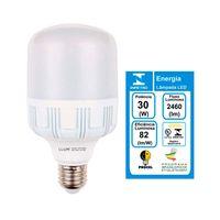 Lampada-LED-high-power-bulbo-30W-6500K-branca-3000lm-Bronzearte