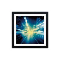 Quadro-decorativo-Speed-of-Light-33x33cm-preto-Infinity