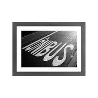 Quadro-decorativo-By-Bus-28x38cm-cinza-Infinity