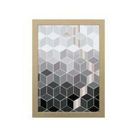 Quadro-decorativo-Geometrico-28x38cm-zebrano-Infinity