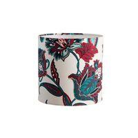 Cupula-de-abajur-Floral-20x20cm-azul-e-vermelho-LS-Ilumina