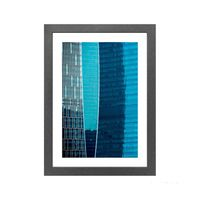 Quadro-decorativo-Vibrante-Blue-I-28x38cm-cinza-Infinity