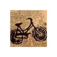 Placa-decorativa-Bike-20x20cm-Infinity