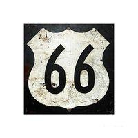 Placa-decorativa-Route-66-I-20x20cm-Infinity