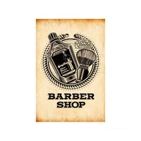 Placa-decorativa-Barber-Shop-20x30cm-Infinity