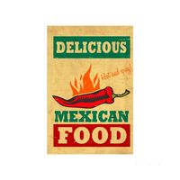 Placa-decorativa-Mexican-20x30cm-Infinity