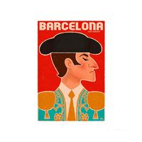Placa-decorativa-Barcelona-20x30cm-Infinity