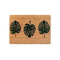 Capacho-Folhas-60x45cm-fibra-natural-bege-Coisas-e-Coisinhas