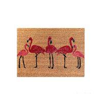 Capacho-Flamingo-60x45cm-fibra-natural-bege-e-rosa-Coisas-e-Coisinhas