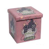 Puff-bau-de-plastico-375cm-marrom-Game-Coisas-e-Coisinhas