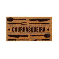 Capacho-churrasqueira-40x75cm-PVC-bege-Kapazi