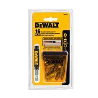 Jogo-para-parafusar-guia-magnetica-DW2053-16-pecas-Dewalt