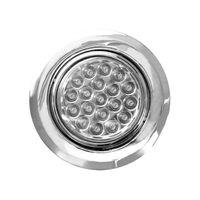 Spot-Riviera-com-19-LEDs-cromado-com-luz-branca-2W-bivolt-quente-Iluctron