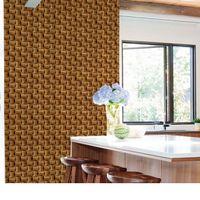 Adesivo-de-parede-madeira-3D-44cm-x-3-metros-Grudado-Adesivos