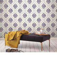 Papel-de-parede-arabesco-azul-2406-52cm-x-10m-vinilico-Revex