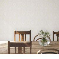 Papel-de-parede-arabesco-vazado-bege-3503-52cm-x-10m-vinilico-Revex