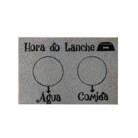 Capacho-Hora-do-Lanche-40x60cm-PVC-cinza-Pet-Kapazi