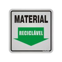 Placa-de-aluminio-12x12cm-Material-reciclavel-Sinalize