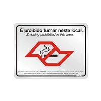 Placa-de-aluminio-25x20cm-Proibido-fumar-Lei-nº-13541-SP-Sinalize