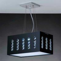 Plafon-Cristal-LED-1x20W-220V-6400K-preto-Bronzearte