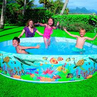 Piscina-Snapset-Recife-Coral-2089-litros-Intex