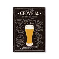 Placa-decorativa-Cerveja-preto-Geguton
