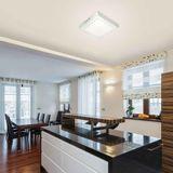 Painel LED de sobrepor quadrado 31,5x31cm 24W 6500k branco Taschibra