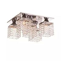 Plafon-de-sobrepor-quadrado-para-5-lampadas-de-inox-Niteroi-Auremar