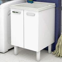 Gabinete-de-lavanderia-com-tanque-Flat-60x61cm-branco-Cozimax