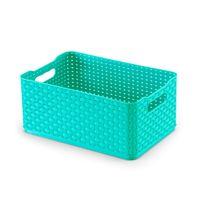 Caixa-organizadora-45L-azul-tiffany-Rattan-03-Arthi