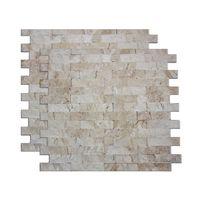Mosaico-de-marmore-Angra-28x28cm-bege-Trento