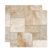 Piso-ceramico-Geometric-acetinado-bold-53x53cm-bege-Royal-Gres
