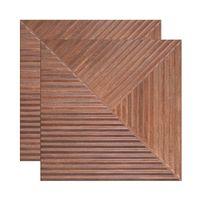 Porcelanato-Woodwork-fosco-retificado-84x84cm-marrom-Elizabeth