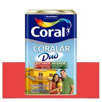 Tinta-Coral-Economica-Coralar-Duo-acrilica-fosca-rubi-18L-