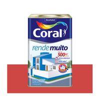 Tinta-acrilica-fosca-Rende-Muito-vermelho-cardinal-18L-Coral-1112627
