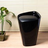 Banco-de-plastico-estofado-50cm-preto-Coisas-e-Coisinhas-1563866