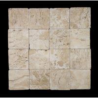 Mosaico-de-marmore-Ubatuba-28x28cm-bege-Trento-1583670